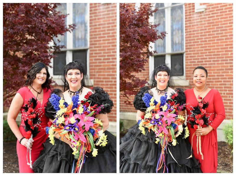 Mulberry United Methodist Church Halloween Wedding Photographer Photography Indiana Lafayette Indianapolis