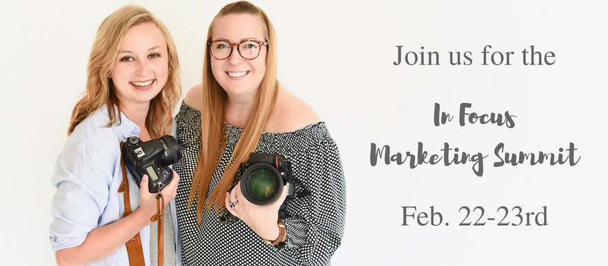 In Focus Marketing Summit: A Workshop For Photographers