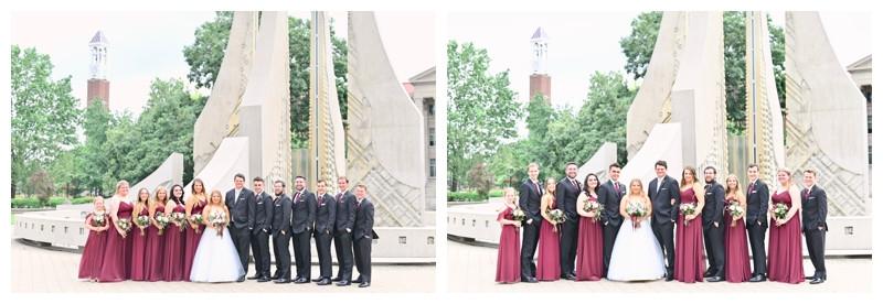 Lafayette Indiana Wedding Photographer Lafayette Country Club St Marys Photography
