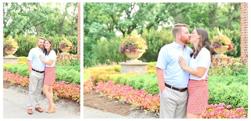 PUBLISHED: WeddingDay Magazine- See Love In Full Bloom In An Outdoor Indianapolis Engagement Session