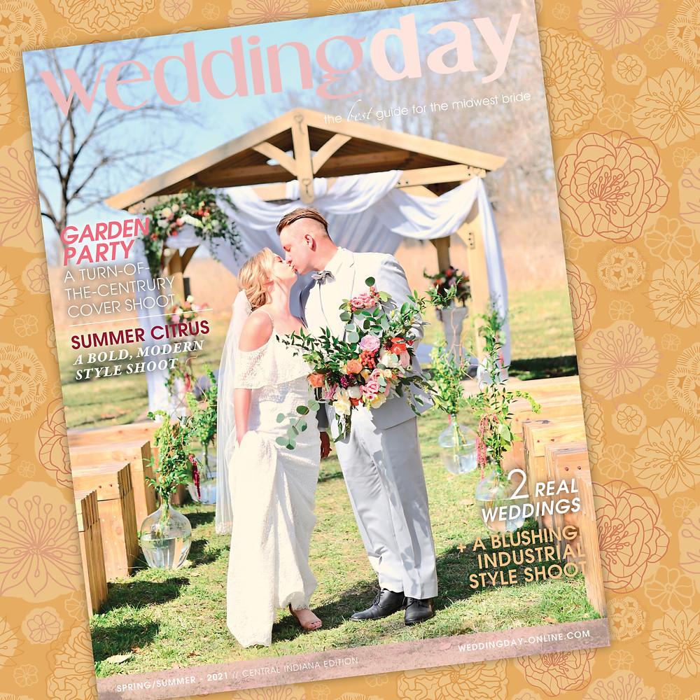 WeddingDay Magazine Spring/Summer 2021 Cover Shoot