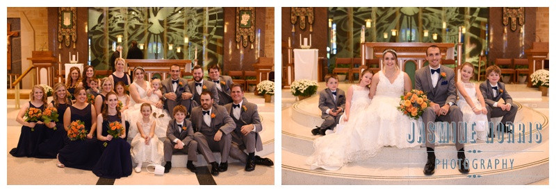 Madame Walker Theater Holy Spirit Catholic Church Indianapolis Indiana Wedding Photographer Photography
