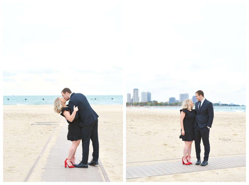 Chicago Illinois Lincoln Park Zoo North Avenue Beach Engagement Photographer Photography Lafayette Indianapolis Indiana