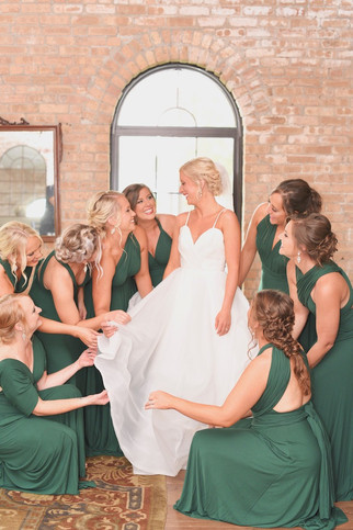 The Armory South Bend Wedding