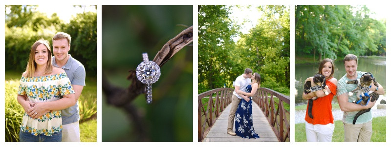 Holcomb Gardens Butler University Indianapolis Indiana Engagement: Maggie & Jeremy