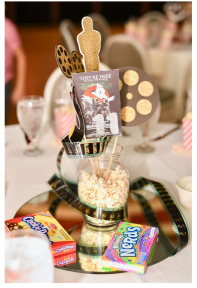 Movie Table Numbers Indianapolis Wedding Photographer