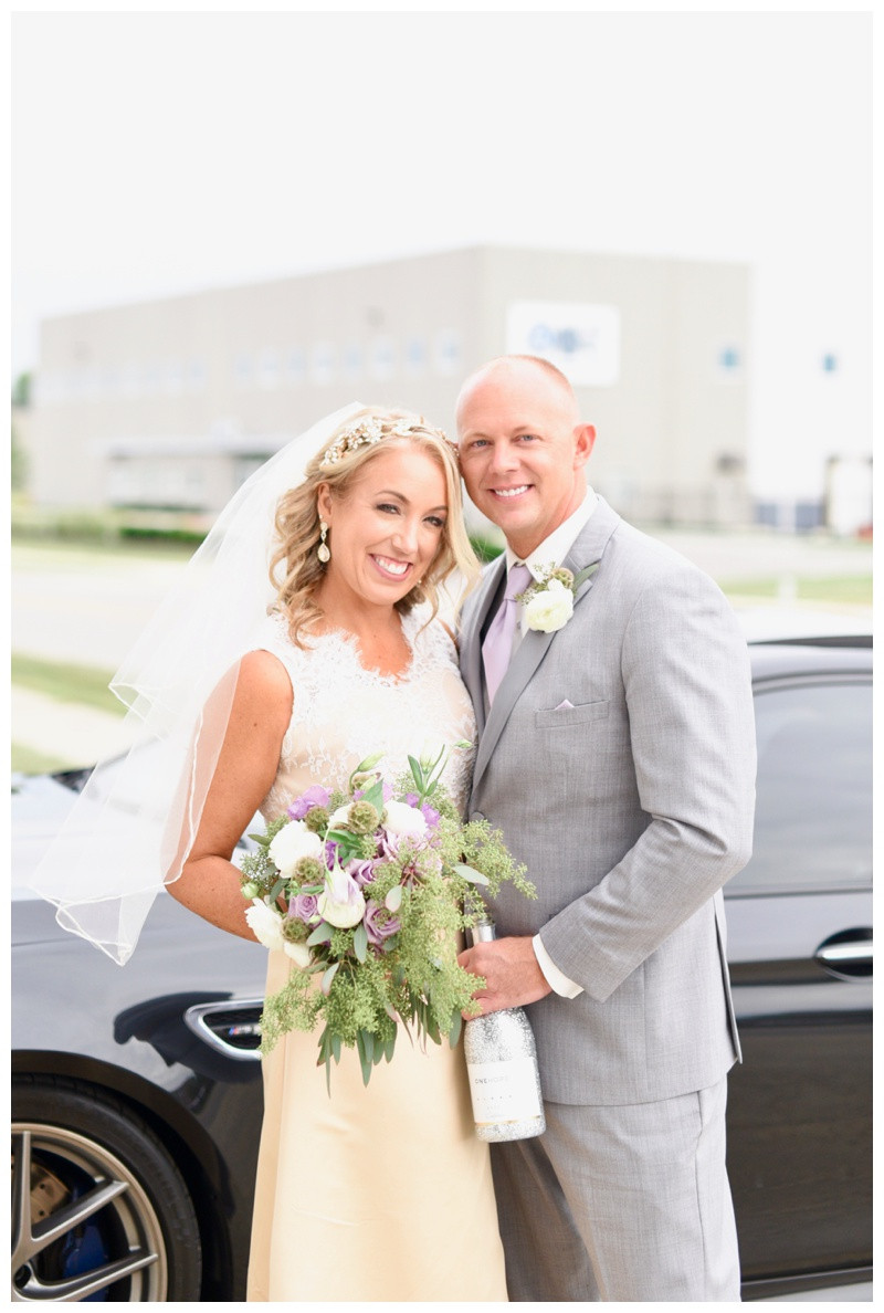 Dallary Indy Car Factory and Our Lady of Lourdes Indianapolis Indiana Wedding Photographer Photography