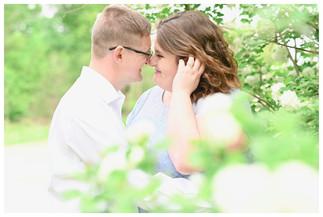 English Indiana Engagement Photographer
