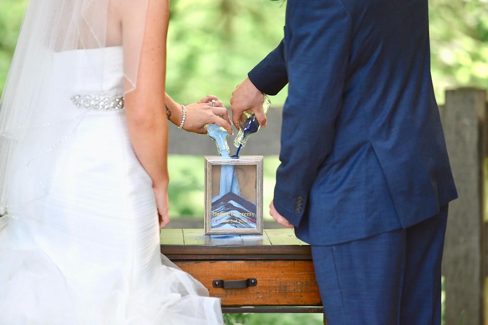 Sand Ceremony Crawfordsville Indiana Wedding Photographer Photography Stone Creek Lodge