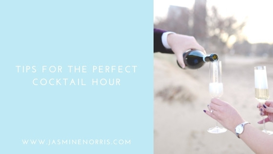 Tips For The Perfect Cocktail Hour: Wedding Wednesday