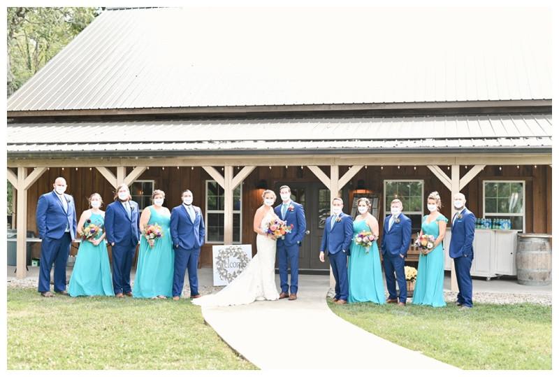 Barn at Hawks Point Anderson Indiana Wedding Photographer