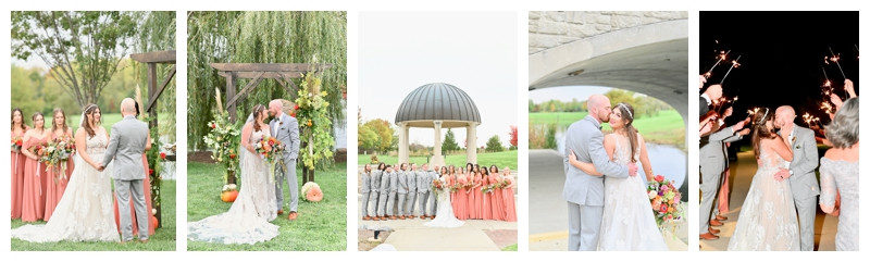 Coxhall Gardens Carmel Indiana Wedding: Lauren & David