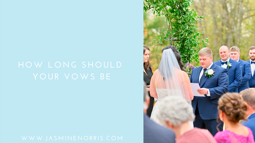 How Long Should Your Vows Be Indiana Wedding Photographer Photography Indianapolis Lafayette