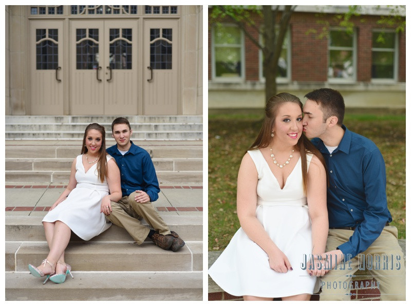 Purdue University West Lafayette Indiana Engagement Photographer Photography
