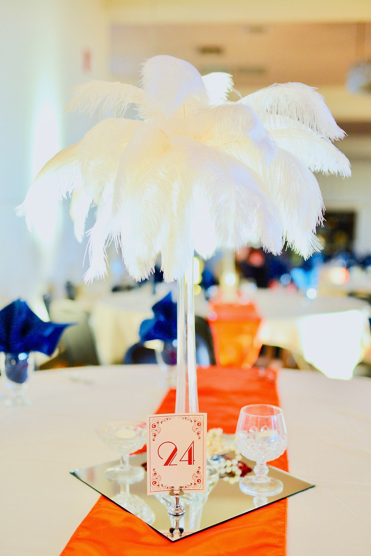 Art Deco Table Numbers Indianapolis Indiana Wedding Photographer