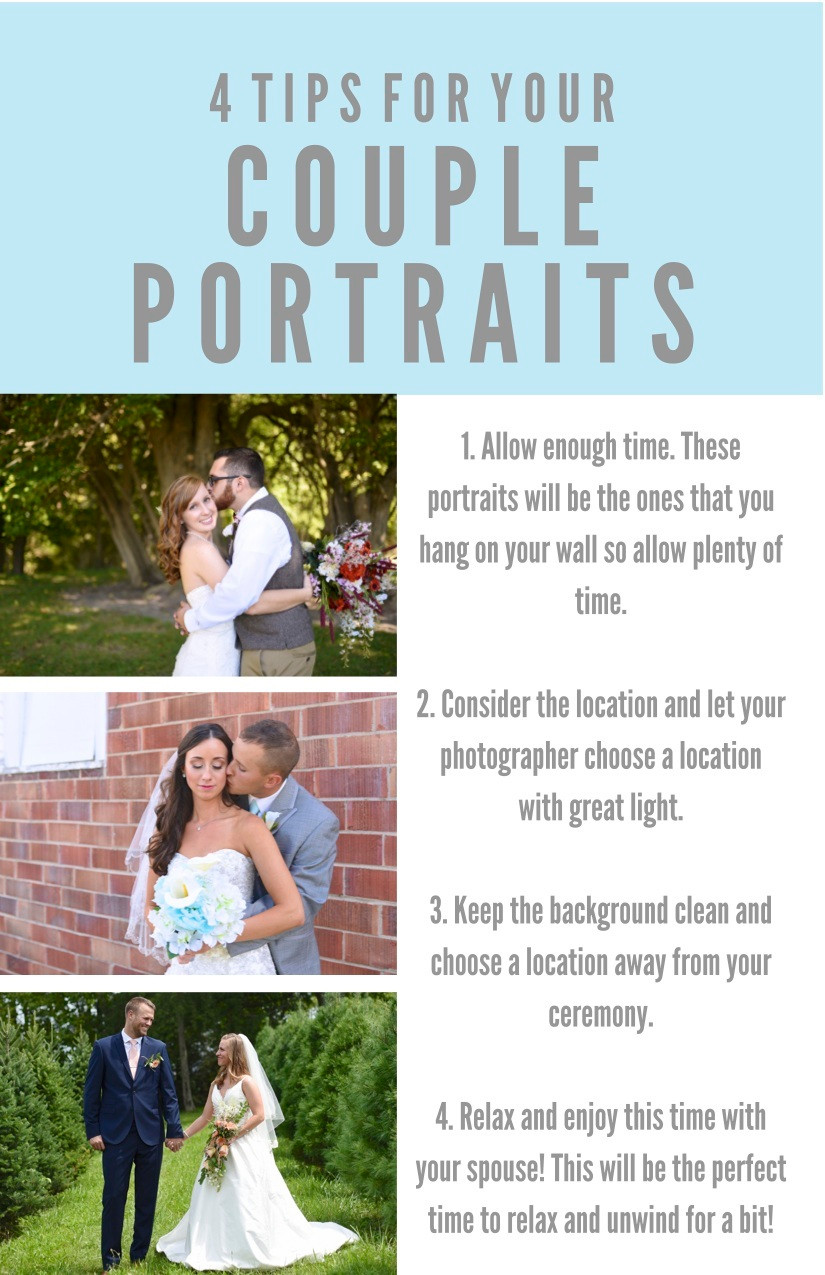 Tips for your Couple Portraits Indiana Wedding Photographer Photography