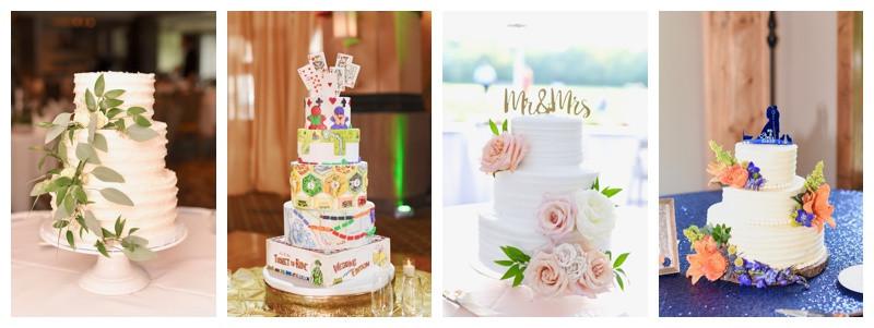Wedding Cake Inspiration Indiana Destination Wedding Photographer Photography Lafayette Indianapolis