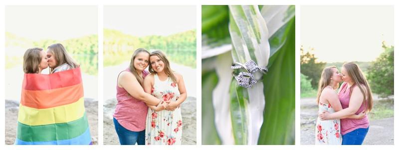 France Park Logansport Indiana Engagement: Ashley & Samanthia
