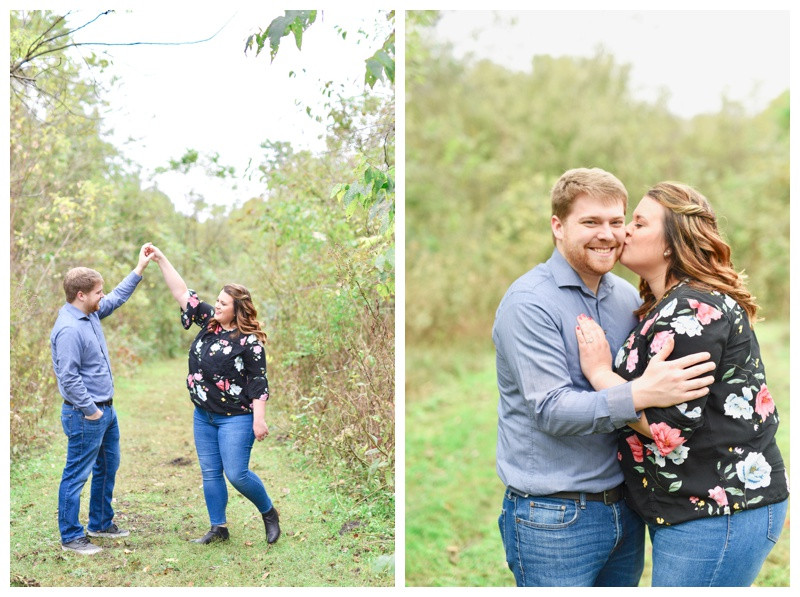 Tippecanoe Battlefield Park West Lafayette Indiana Engagement Photographer Photography