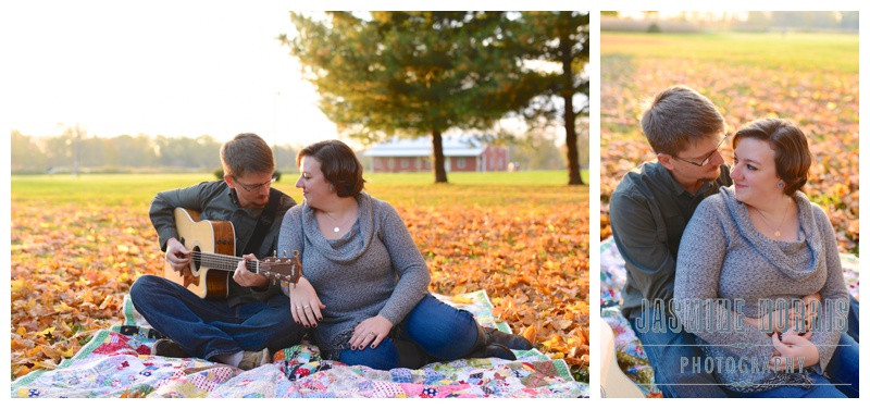Plainfield Indiana Farm Engagement Photographer Photography