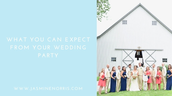 What You Can Expect For Your Wedding Party Indiana Wedding Photographer Photography