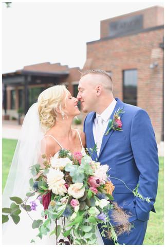 Armory South Bend Indiana Wedding Photo