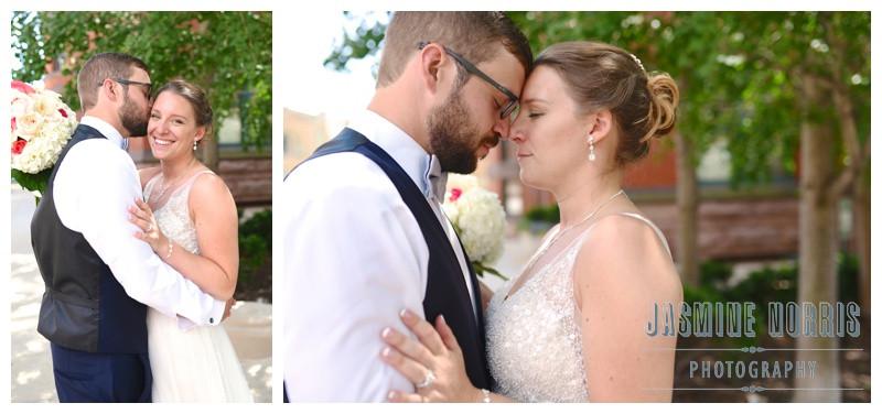 Downtown Indianapolis Indiana Omni Severin Hotel Wedding Photographer Photography