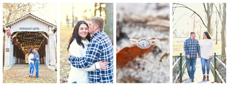 Highland Park Kokomo Indiana Engagement: Stephanie & Ryan