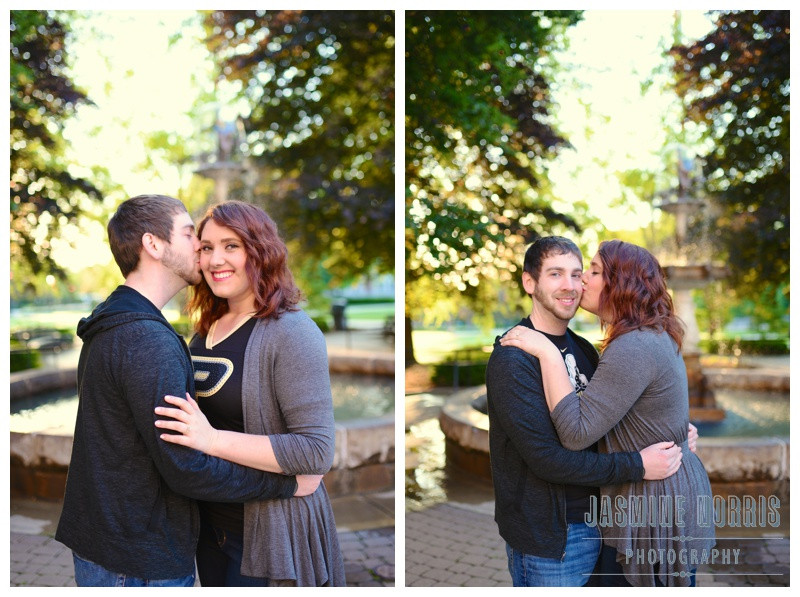 Purdue University and Columbia Park Zoo Engagement Photographer Photography