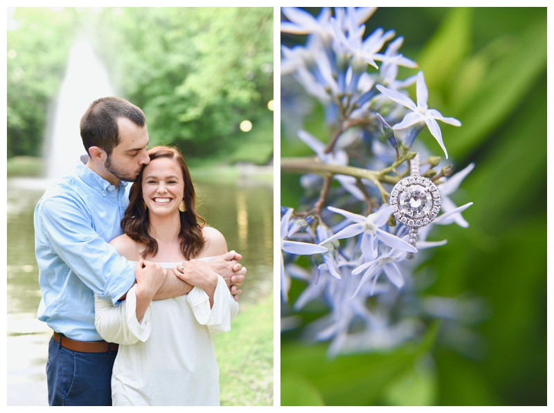 Holcomb Gardens Indianapolis Indiana Butler University Engagement Photographer Photography Lafayette