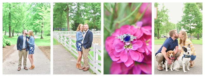 Forest Park Noblesville Indiana Engagement: Katie & Gabe