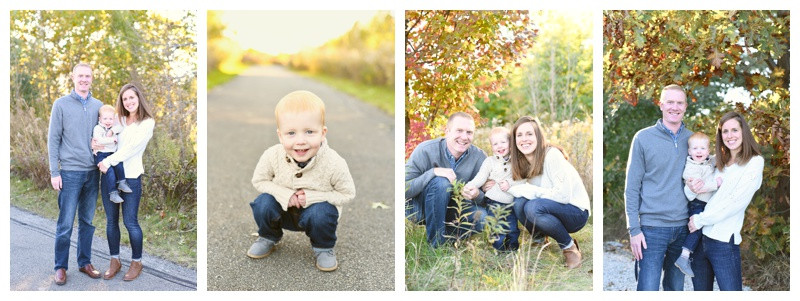 Carmel Indiana West Park Family Session: Feauto Family
