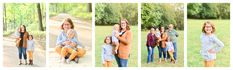 Happy Hollow West Lafayette Indiana Family Session: Purdeu Family