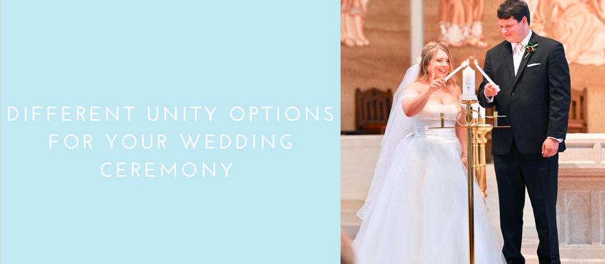 Different Unity Options For Your Wedding Ceremony: Wedding Wednesday
