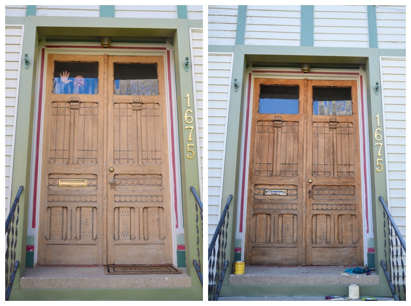 Refinishing our 100 Year Old Victorian Door