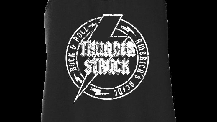 Thunderstruck Ladies Logo Tank Top