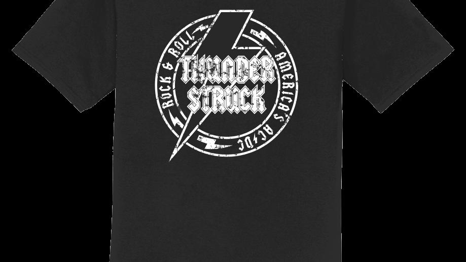 Thunderstruck Unisex Crew Neck Logo Tee