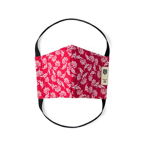 Limited Edition Face Mask - Bandana Red