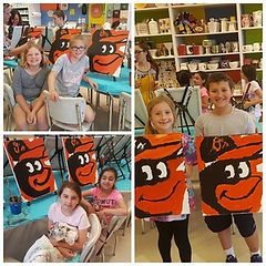 Kid Canvas Workshop Amazing Glaze Maryland