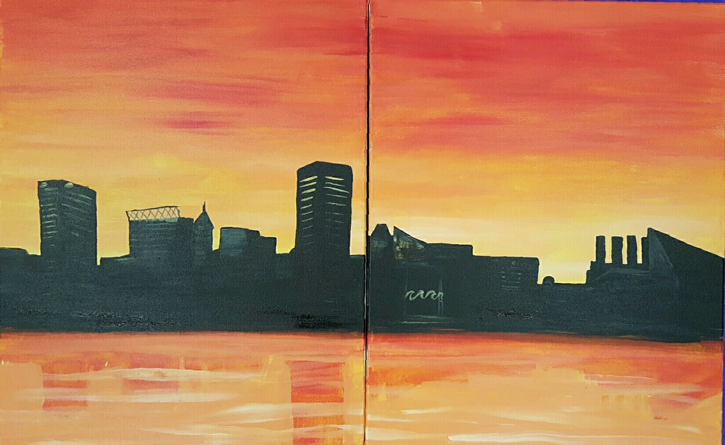 Adult Baltimore Canvas