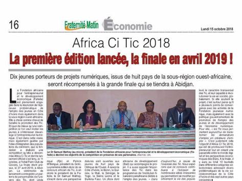 AFRICA CITIC : Révéler le Génie Africain