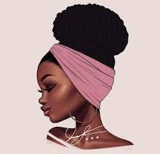BLACK IS SO BEAUTIFUL.. QUAND LES PINCEAUX PLEURENT DEVANT LA BEAUTÉ DES FEMMES BLACK..