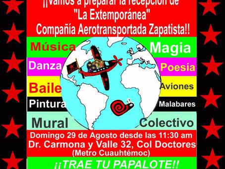 Vamos tod@s a preparar la recepción de La Extemporánea