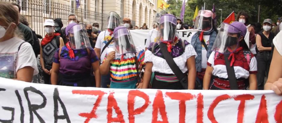 Zapatistas en Suiza