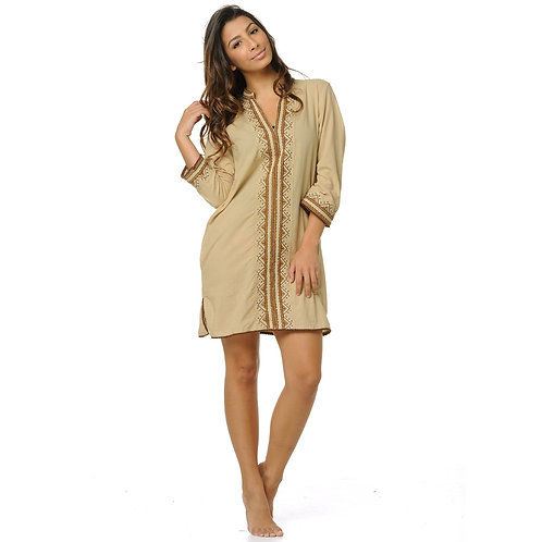 PRANCER DRESS - KHAKI