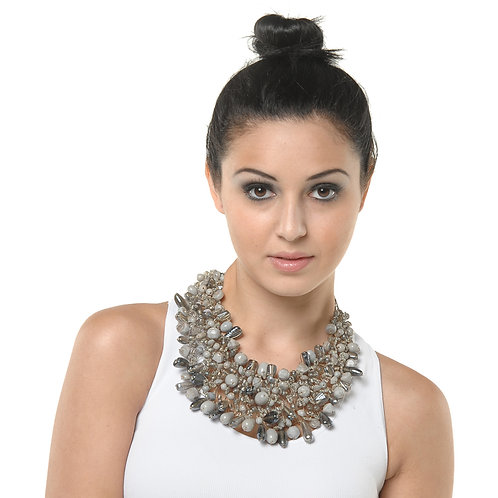 HAUTE SPROUT - WIRE WOVEN NECKLACE