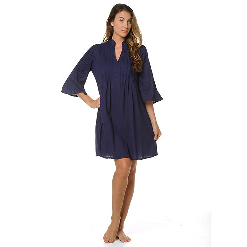RILEY DRESS - NAVY