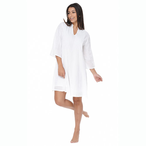 RILEY DRESS - Solid White