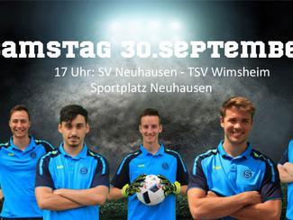 Der SVN lädt Topspiel gegen Wimsheim