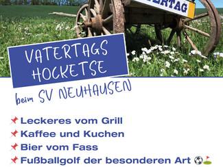 Vatertagshocketse +  Elfmeterturnier beim SV Neuhausen